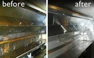 M&N CLEANING SERVICES HOOD CLEANING BEFORE AND AFTER